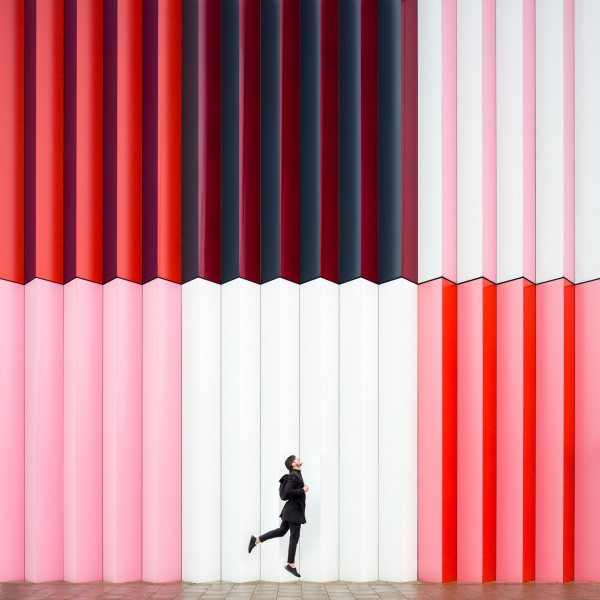 Annandaniel Anniset DrCuerda Anna Devís Daniel Rueda Curiocities Mira Mall Munich Colorful Pink Wall Building