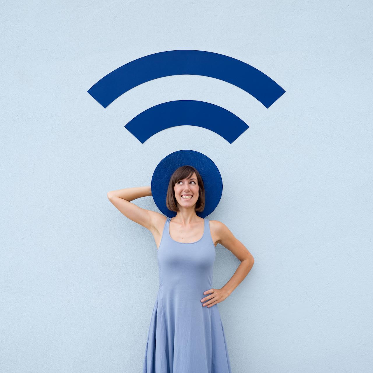 Annandaniel Anniset DrCuerda Anna Devís Daniel Rueda Papertastic Wifi Hatspot Personal Hotspot Internet Icon Illustration Wi-fi